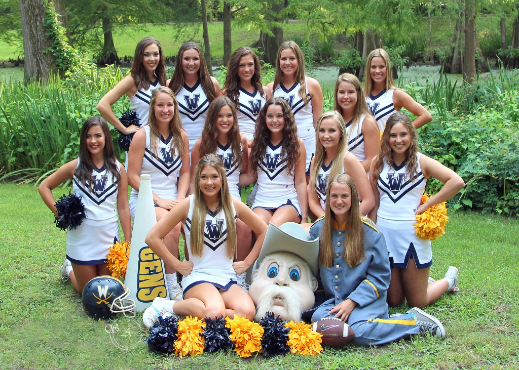 2017-18 Varsity Cheer Squad