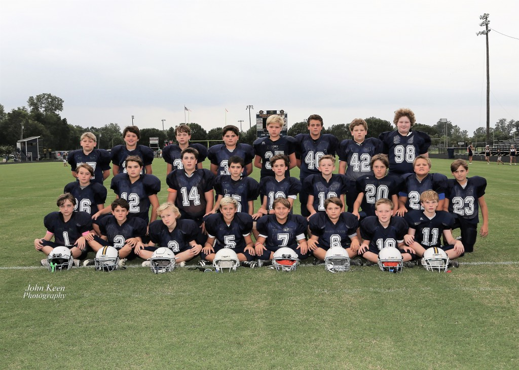 2017 5th & 6th Grade Football Team